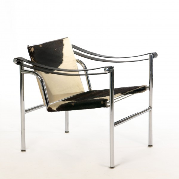 Le Corbusier Design LC1 Chair – Early Cassina Version with Pony Skin ...